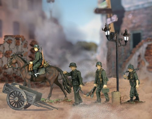 Buy Low Price Panache Place Unimax Forces of Valor 1:72nd Scale German Cavalry Division Figure (B000N5H0IC)