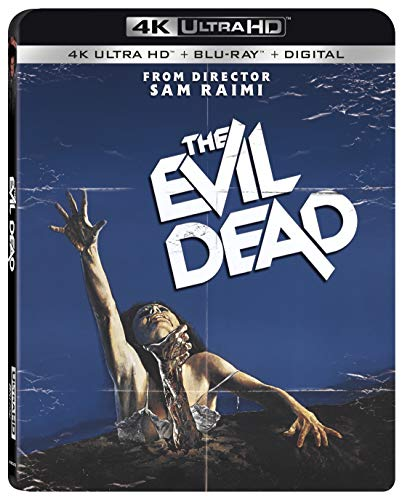 4K Blu-ray : The Evil Dead (With Blu-ray, 4K Mastering, Digital Copy, Widescreen, Subtitled)