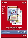 Canon High Resolution Paper HR101N papier jet d'encre A4 50 feuilles