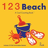 123 Beach: A Cool Counting Book (Cool Counting Books)