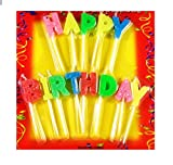 IBZ Happy Birthday Stick Velitas Candle