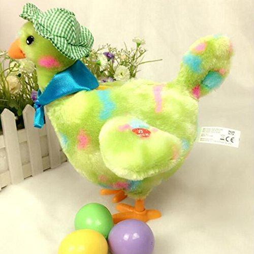 Squakin' Egg Droppin' Hen,mama hen (Toy Chicken Laying Easter Eggs compare prices)
