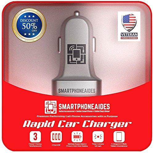 Rapid 3-Port USB Car Charger Deals