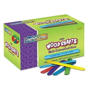 Chenille Kraft Colored Wood Craft Sticks