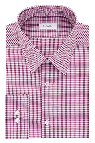Calvin-Klein-Mens-Non-Iron-Slim-Fit-Check-Point-Collar-Dress-Shirt
