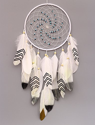 VGIA Handmade Dream Catcher with Feathers Wall Hanging Ornament Craft Gift