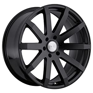 Black Rhino Traverse 24 Black Wheel / Rim 6×5.5 with a 25mm Offset and a 112 Hub Bore. Partnumber 2410TRV256140M12
