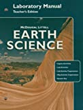 img - for McDougal Littell Earth Science: Laboratory Manual Teacher Edition Grades 9-12 book / textbook / text book