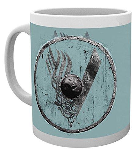 Empire Merchandising 687999Vikings Blue V vichinghi Serie TV tazza in ceramica Dimensioni, diametro 8,5cm, altezza 9,5cm
