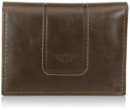 dockers-mens-l-fold-wallet-brown-one-size