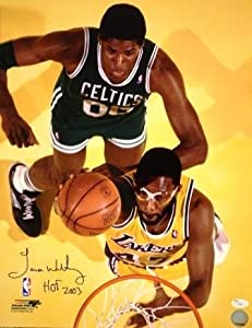 Autographed Hand Signed 16 X 20 James Worthy Los Angeles Lakers 8x10 Photo - Jsa by Hall of Fame Memorabilia