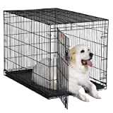 """iCrate Single-Door Dog Crate Size: X-Large - 48"""" L x 30"""" W x 33"""" H"""