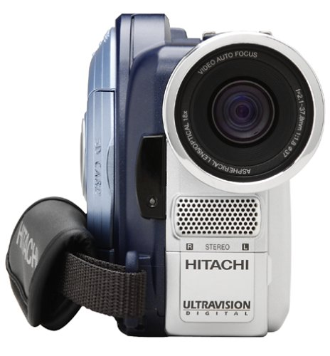 Remanufactured Hitachi DZMV550A DVD Camcorder w/18x Optical Zoom