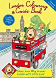 Cover of London Colouring and Guide Book by Rachel Thomas 0955588006