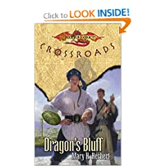 Dragon's Bluff (Dragonlance:  Crossroads, Book 3) by Mary H. Herbert
