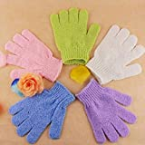 Convenient Multicolor Bath Bathe Gloves