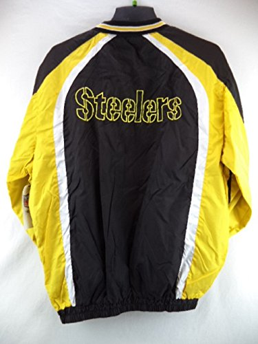 separation shoes 53aa7 6aba0 Pittsburgh Steelers Light Weight Pullover Track Jacket ...