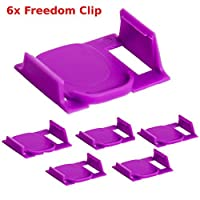 6X Freedom Clever Clips Brew Any K-Cup In your 2.0 Keurig Works in all 2.0 Models By Freedom Brew (6)