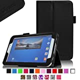 Fintie Folio Classic Leather Case for Samsung Galaxy Tab 3 7.0 inch Tablet - Black