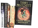 TERRY PRATCHETT 5 BOOK SERIES COLLECTION GIFT SET (I Shall Wear Midnight [Hardcover] ; 9780385611077, Unseen Academicals: A Discworld Novel ; 9780552153379 , The Colour Of Magic: A Discworld Novel ; 9780552124751 , A Hat Full of Sky ; 9780552551441 , Wint