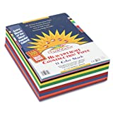"SunWorks Construction Paper Smart-Stack, 9""X12"", 11 Colors, 300 Sheets"