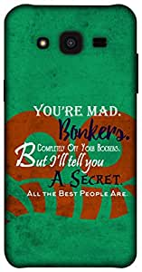 The Racoon Grip Bonkers hard plastic printed back case / cover for Samsung Galaxy J5