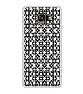 ifasho Modern Art Design Pattern with Lot Of small heart Back Case Cover for Samsung Galaxy A7 (2016)