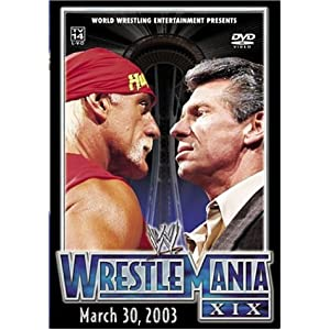 Amazon.com: WWE: WrestleMania XIX: Kurt Angle, Brock Lesnar, Paul ...