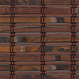 Bali shades blinds sliding panels woven wood material antigua cinnamon t5003 - Woven wood wall panels ...