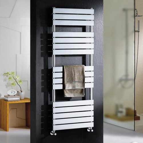 Sacramento Flat Panel Towel Radiator - 1600x600mm