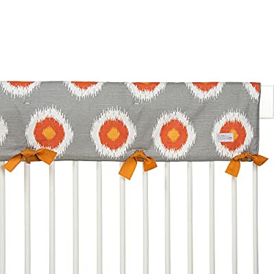 Sweet Potato by Glenna Jean, Rhythm Convertible Crib Rail Protector - Long (Single) (Print) from Glenna Jean Mfg.