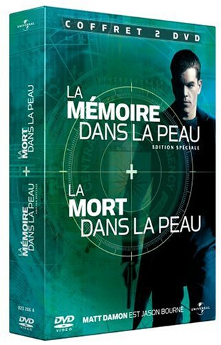 La Mort dans la peau / La mémoire dans la peau - Coffret 2 DVD