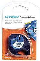 Dymo LetraTag S0721660 Étiquettes plastique Blanc (Import Allemagne)