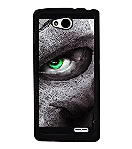 iFasho Scary Faces Pattern Back Case Cover for LG L90