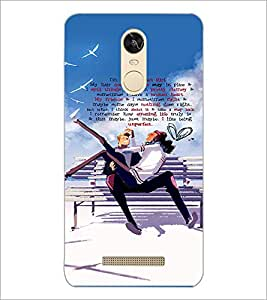 PrintDhaba Quote D-3035 Back Case Cover for XIAOMI REDMI NOTE 3 (MEDIA TEK) (Multi-Coloured)