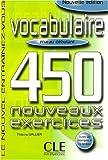 Vocabulaire - 450 Nouveaux Exercices