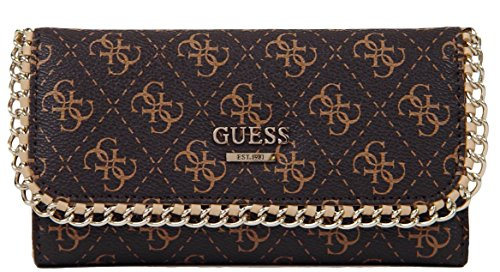 GUESS Confidential Chain Slim Wallet Clutch, Brown the theater experience w cd rom