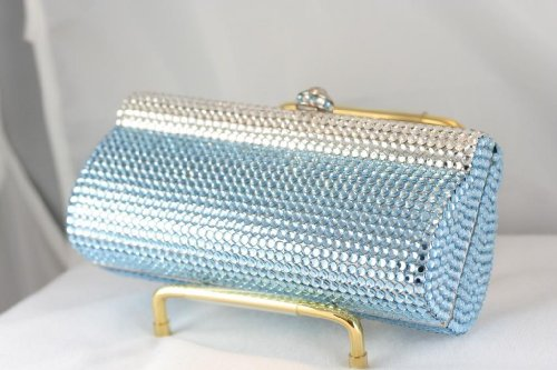 LUXURY SWAROVSKI CRYSTAL EVENING BAG PURSE
