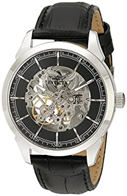 Invicta Men's 18130 Specialty Analog Display Mechanical Hand Wind Black Watch