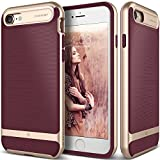 iPhone 7 Case, Caseology [Wavelength Series] Slim Ergonomic Ripple Design [Burgundy] [Modern Grip] for Apple iPhone 7 (2016)