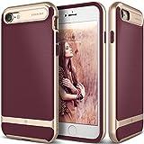 iPhone 7 Case, Caseology [Wavelength Series] Slim Ergonomic Ripple Design [Burgundy] [Modern Grip] for Apple iPhone 7 (2016)