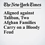 Aligned Against Taliban, Two Afghan Families Carry on a Bloody Feud | Rod Nordland,Jawad Sukhanyar