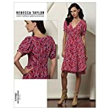 Vogue Patterns V1152 Size FF 16-18-20-22 Misses' Dress