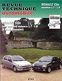 echange, troc Etai - Revue Technique Automobile, numéro 546.2 : Clio 1.7 RT-1.8 RT-Baccara et 16 S
