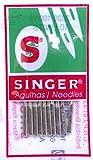 10 Singer Nähmaschinen Nadeln 2020 Stärke 90/14 für...