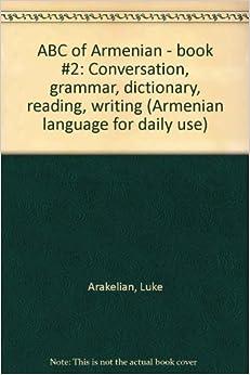 Armenian language grammar pdf