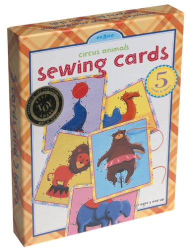 eeBoo: Circus Animals Lacing Game - 1