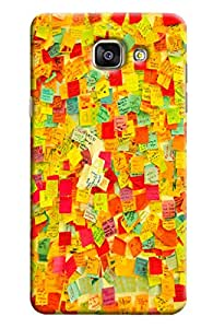 Clarks Stickers Hard Plastic Printed Back Cover/Case For Samsung Galaxy A5 2016