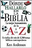 Dónde Hallarlo En La Biblia De La A A La Z (0899223885) by Anderson, Ken