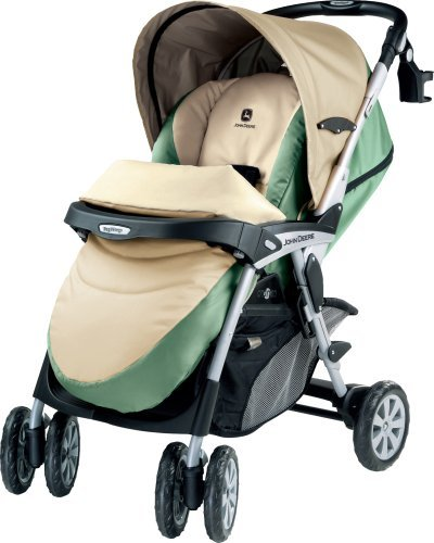 Peg Perego John Deere Centro Stroller front-60370